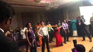 Surprise wedding dance at Menu & Sam's