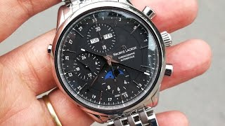 (Mở hộp & Trên tay) Maurice LaCroix Les Classique LC6078 Moonphase Triple Calendar