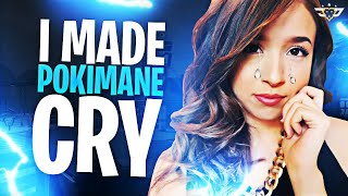 I MADE POKIMANE CRY! SHE LEAVES THE PARTY! (Fortnite: Battle Royale)