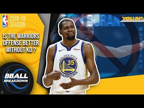 Is The Warriors Offense Better Without Kevin Durant