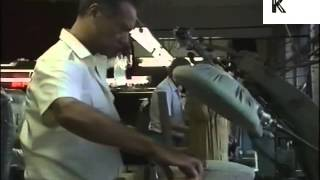 1980s Brick Lane Clothing Factory, Bangladeshi British Workers, Archive Footage