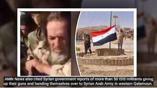 """shocking news: isis fighter admite defeat after surrenders in syria """"we"""