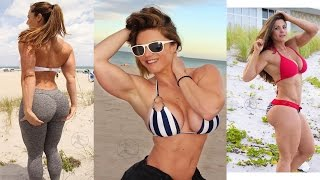Linda Durbesson Glutes Exercises Extreme Female Fitness motivation Personal Trainer