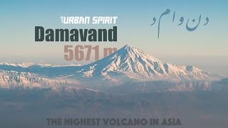 Climbing mount Damavand, 5671 m, Iran, The highest volcano in Asia