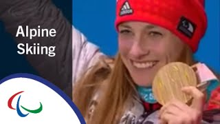 Victory Ceremony | Women's Super-G sitting | Alpine Skiing