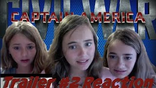 Captain America: Civil War Trailer 2 Reaction