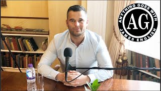 James English sits behind the questions this time to talk about his gambling and drug addictions