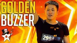 Card Magician Wins GOLDEN BUZZER on Mongolia
