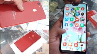 Convert Oppo F7 into Iphone X with apple lamination decorate paper