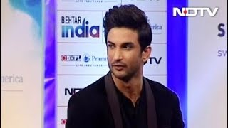 Behtar India Rapid Fire With Sushant Singh Rajput