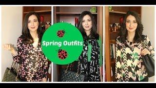 One Week of Spring Career Outfits