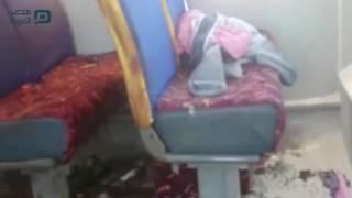 مصر العربية   اللقطات الأولى من موقع حادث المنيا