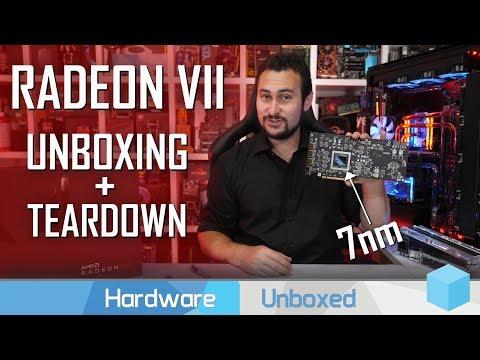 AMD Radeon VII Unboxed, 'Yeah... We've Got One!'