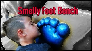 Smelly Feet Bench Birthday Bash...
