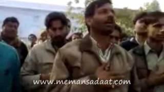 (ORIGINAL 1999) Noke Naiza pe teherta nahi Abbas ka sar .. Meman Sadaat