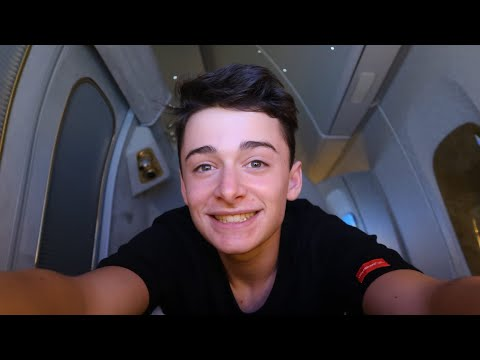 I Flew Emirates First Class and It Was Insane Noah Schnapp
