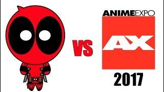 Deadpool vs Anime Expo 2017