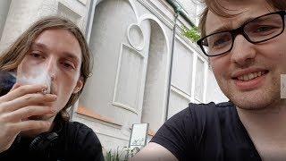 In der Öffentlichkeit kiffen Experiment - Wie wird München reagieren?
