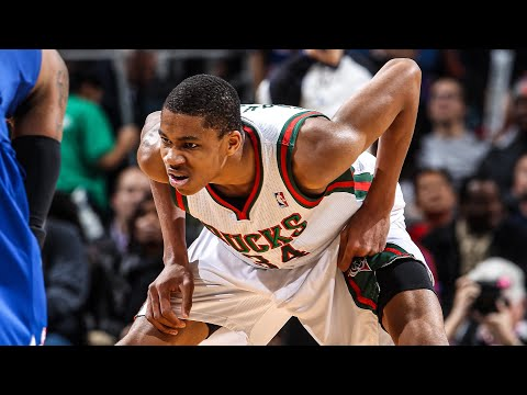 Giannis Antetokounmpo Complete Rookie Season Highlights 2013 14 NBA MVP In The Making