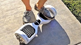 Teaching My Family How To Ride A Hoverboard