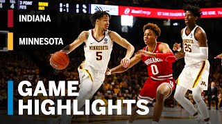Highlights: Indiana at Minnesota | Big Ten Basketball
