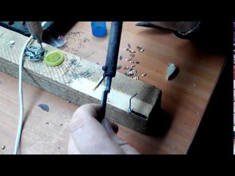 Изготовление мормышек в домашних условиях