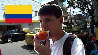 PROBADO DULCES EN LAS CALLES DE COLOMBIA / MEDELLÍN | Dave Parz