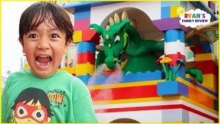 Legoland Hotel Tour Indoor Playground with Amusement Park for Kids