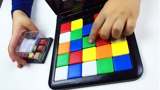 Rubik's Race Magic Block Game 4 kids. Race to match the shaking cube.Let's play kids