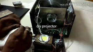 Diy projector 70 watt led bridgelux 1260x800 resolution