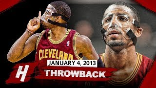 MASKED Kyrie Irving UNREAL Clutch Highlights vs Bobcats 2013.01.04 - 33 Pts, 6 Ast, GAME-WINNER!