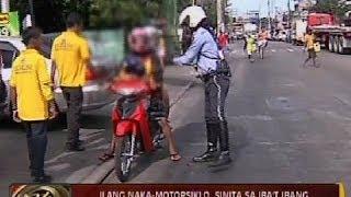 24Oras: Ilang naka-motorsiklo, sinita ng LTO flying squad dahil sa iba't ibang violation