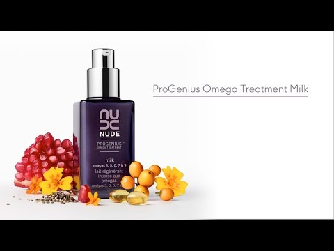 Quench Skin's Thirst with ProGenius Omega Treatment Milk from NUDE Skincare