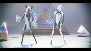 【MMD】Sand Planet / DIVELA REMIX 【黒ゆモデル】