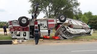 Unbelievable Fire Truck Crashes