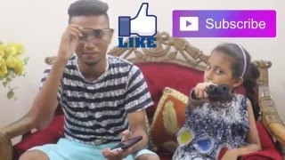 Annoying Sister - Bangla Funny Video (ZamanBros)