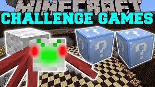 Minecraft: CHRISTMAS SPIDER CHALLENGE GAMES - Lucky Block Mod - Modded Mini-Game