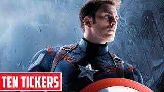 Top 10 sự thật thú vị về Captain America | Nhân vật Ten Tickers No. 1