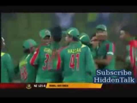 Xxx Mp4 Rubel Hossain Hat Trick Video Bangladesh VS Newzealand At 1st ODI At Dhaka 3gp Sex