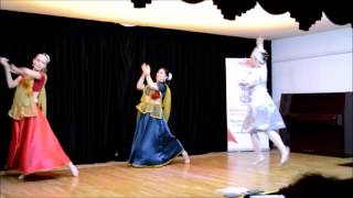 Indian Kathak & Russian Ballet Dance Clip (Amritsar Project Moscow)