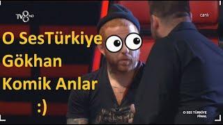 Gökhan Komik Anlar | O Ses Türkiye 2017-2018 Gökhan Komik Anları Vtr Video