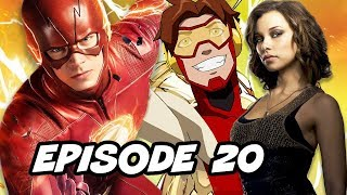 The Flash 4x20 Episode New Speedster - TOP 10 and Easter Eggs
