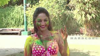 HOT Marisa Verma Bikini Photoshoot | Holi Special 2015