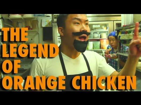 Who Invented Orange Chicken skit