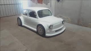 FIAT 600 MOTOR CBR 1000 RR
