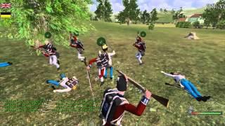 22nd Foot vs 95thRoF - Mount & Blade Napoleonic Wars