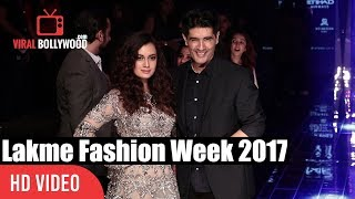 Dia Mirza At Lakme Fashion Week Winter Festive 2017 | Grand Finale Day - 05 | #LFW2017