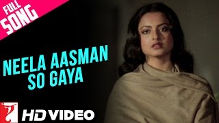 Neela Aasman So Gaya (Female) - Full Song HD | Silsila | Amitabh Bachchan | Jaya Bachchan | Rekha