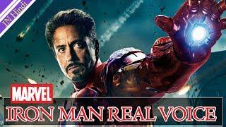 कौन है इस बुलंद अबाज के पीछे || IRON MAN Real voice || in Hindi 720p