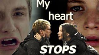 katniss and peeta - til my heart stops